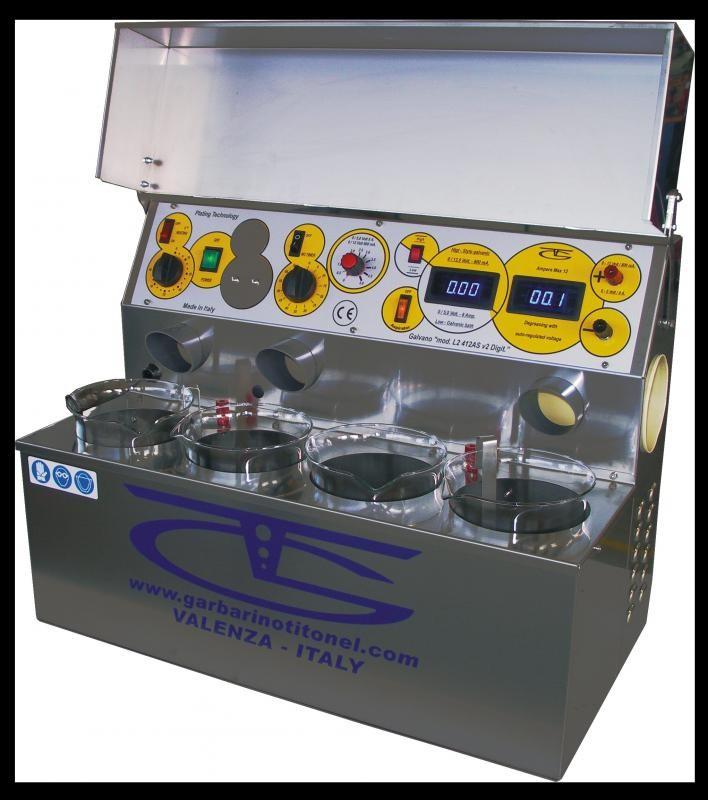 Maquina de banho de ouro