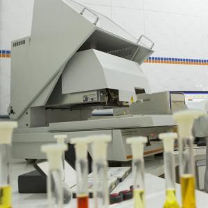Laboratorio de analise de metais